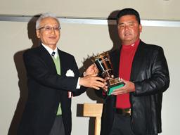 第10回 ベストアマチュア 寺西明選手