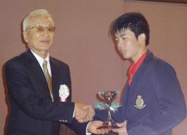 第11回 ベストアマチュア 坂本隆一選手